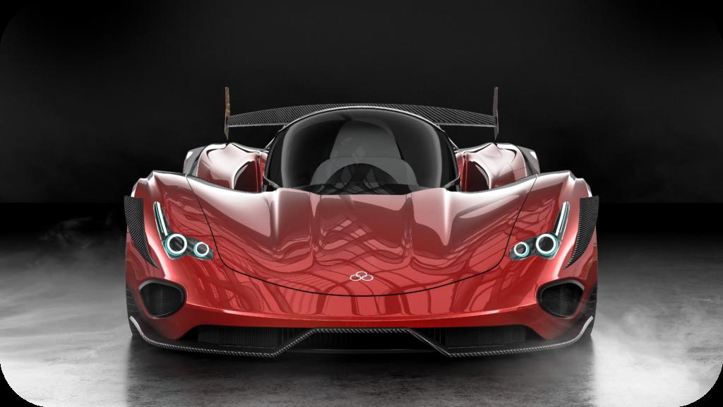 Carbon Repair UK red sports car